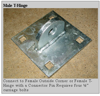male t hinge Dockside Marine Supply Company    Floating Docks  PWC Floats   Dock Hardware   Floating Dock Components